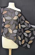 Cassie Wrap by Elizabeth Rubidge  (Silk & Wool Scarf)