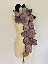 Kara Scarf by Elizabeth Rubidge  (Silk & Wool Scarf)