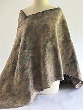 Tilly Poncho by Elizabeth Rubidge  (Silk & Wool Poncho)