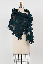 Tilda Neck Scarf by Elizabeth Rubidge (Silk and Wool Scarf)