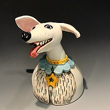 Gratitude with Attitude by Amy Goldstein-Rice (Ceramic Sculpture)