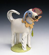 Let's Play by Amy Goldstein-Rice (Ceramic Sculpture)