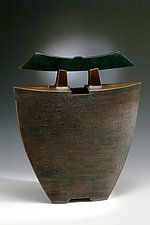 Cauldron by Ronald Artman (Ceramic Sculpture)