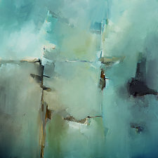 Moody Blues by Filomena Booth (Acrylic Painting)