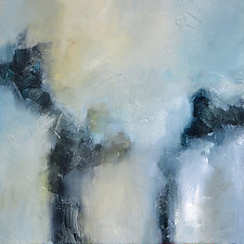 Morning Fog II by Filomena Booth (Acrylic Painting)