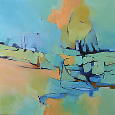 Sea Breeze by Filomena Booth (Acrylic Painting)