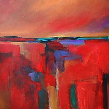 Canyon Sunset by Filomena Booth (Acrylic Painting)