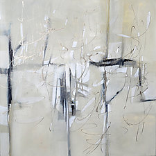 Study in Gray by Filomena Booth (Paintings & Drawings Acrylic Paintings)