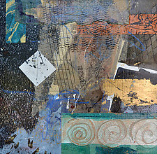 Dreams of Days Gone By by Filomena Booth (Mixed-Media Painting)