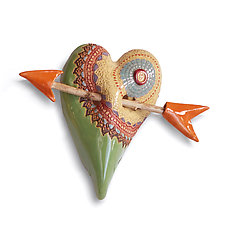 Frida by Laurie Pollpeter Eskenazi (Ceramic Wall Sculpture)