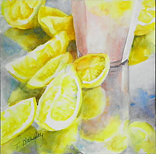 So I Made Lemonade by Terrece Beesley (Watercolor Painting)