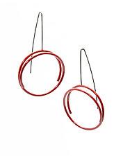 Circle Earrings by Donna D'Aquino (Metal Earrings)