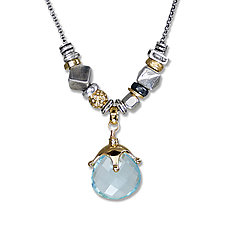 Jambalaya Necklace II by Suzanne Q Evon (Silver & Stone Necklace)