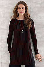 Mineo Striped Tunic by Cynthia Ashby  (Knit Tunic)
