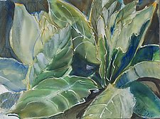 Mullein in Spring by Alix Travis (Watercolor Painting)