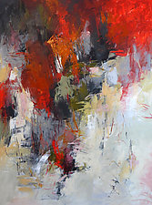 Precipice 2 by Debora  Stewart (Acrylic Painting)