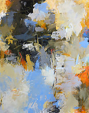 Crevasse by Debora  Stewart (Acrylic Painting)