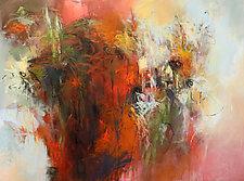 Dark Garden by Debora  Stewart (Acrylic Painting)