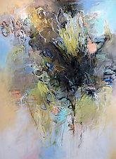 Poem for a Garden by Debora  Stewart (Oil Painting)
