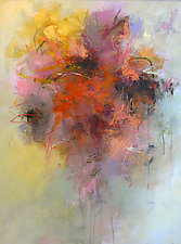 Floral Essence II by Debora  Stewart (Paintings & Drawings Acrylic Paintings)