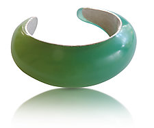 Clearwater Cuff by Velina Glass (Resin Bracelet)
