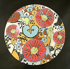 Sweet Eve Small Platter by Regina Farrell (Ceramic Platter)