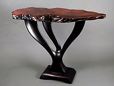 Triple Espresso by Bill Palmer (Wood Console Table)
