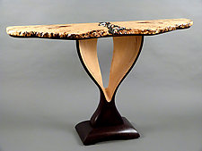 Semblance Of Order by Bill Palmer (Wood Console Table)