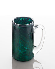 Sea Green Mug by The Glass Forge (Art Glass Mug)