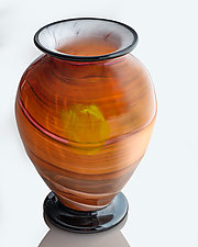 Mojave Sky by The Glass Forge (Art Glass Vase)
