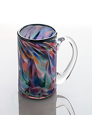 Rainbow Mug by The Glass Forge (Art Glass Mug)