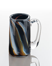 Trailed Mug by The Glass Forge (Art Glass Mug)