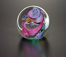North Shore Undersea Weight by The Glass Forge (Art Glass Paperweight)