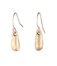 Small Pod Earrings by Natalie Frigo (Bronze Earrings)