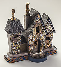 House of a Thousand Wonders by Buffington Bremer Studio   (Mixed-Media Sculpture)