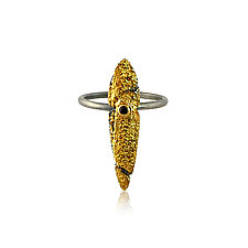 Spire Ring by Jenny Reeves (Gold, Silver & Stone Ring)