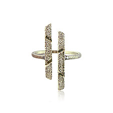 Open Bars Ring by Jenny Reeves (Silver Ring)