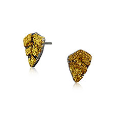 Tiny Dagger Studs by Jenny Reeves (Gold & Silver Earrings)