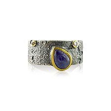 Tanzanite Bedrock Ring by Jenny Reeves (Gold, Silver & Stone Ring)