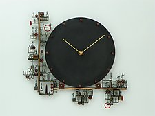 Time's Up by Mary Ann Owen and Malcolm  Owen (Metal Clock)