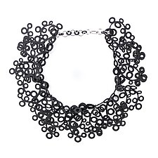 Liz Necklace by Kathleen Nowak Tucci (Rubber Necklace)