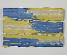 Sky Field by Kristi Sloniger (Ceramic Wall Sculpture)