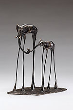 The Roses by Sandy Graves (Bronze Sculpture)
