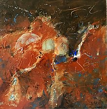 Opus 47 by Ron Reams (Acrylic Painting)