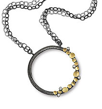 Anelli Necklace by Davide Bigazzi (Gold & Silver Necklace)