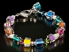 Jumble Pearl Caribbean Bracelet by Ricky Bernstein (Beaded Bracelet)