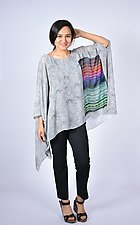 Modern Art Sheer Square by Carol Turner  (Woven Top)