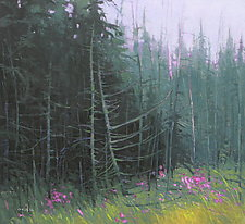 Fireweed by Mary Jo Van Dell (Oil Painting)