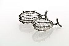 Precious Fruit Earrings by Sooyoung Kim (Silver Earrings)