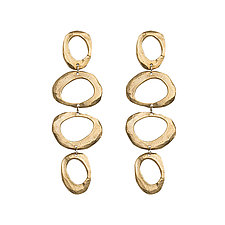 Bronze Mystic Earrings by Ann Chikahisa (Bronze Earrings)